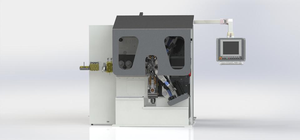 macchine per la fabbricazione automatica di molle con avvolgimento