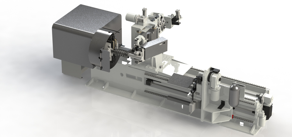 Macchine realizzate per la produzione automatica di molle a compressione